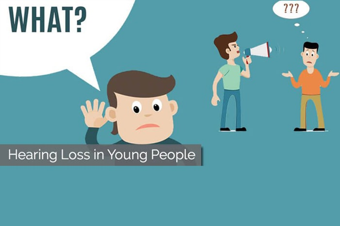 Young Persons Losing Hearing